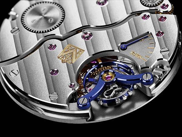 3. 原創Precision Engineering順磁性游絲, 具穩定的寶璣雙層游絲, 原廠手動上鍊小秒針機芯HMC 327