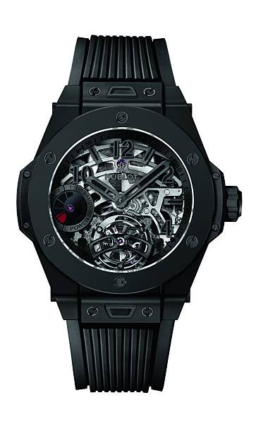 6. Big Bang Tourbillon Power Reserve 5 Days All Black_NTD 3,080,000_White Background