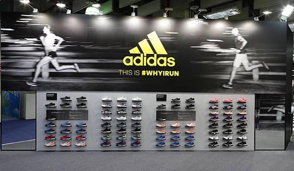 3.adidas將於12月15日至12月17日首屆馬拉松運動博覽會中,推薦adizero Boston 6鞋款,為跑著們提供最極致的裝備,迎接即將登場的臺北馬拉松賽事。