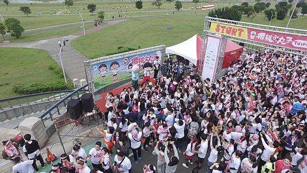今年最受歡迎的Fun Run路跑活動-櫻桃小丸子30週年紀念路跑今正式開跑