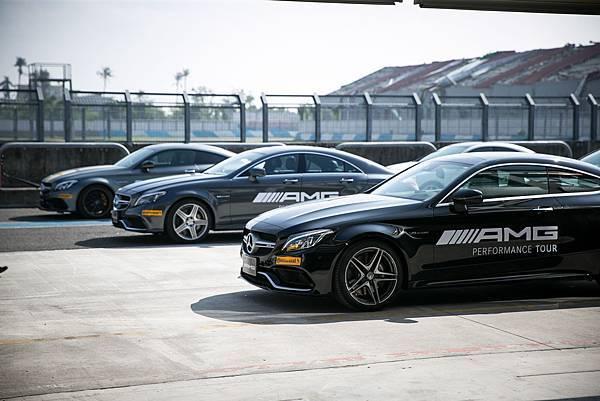 AMG Performance Tour性能駕馭之旅包含「45」、「43」、「63」與 「GT」 等性能大軍全員到齊