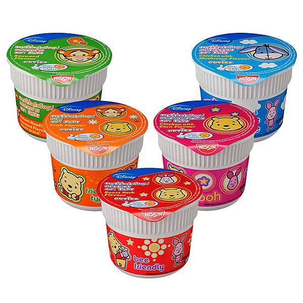 泰國 日清 Disney 迪士尼杯麵