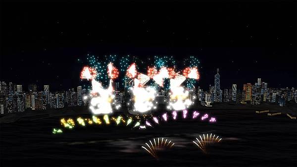 圖2.揉合多款全新煙火圖案,維港上空將首現「蝴蝶飛舞」,閃耀維港、目不暇給。