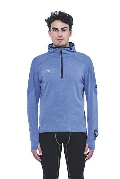 AM904M 內刷毛保暖層跑步上衣男款-正 $3680
