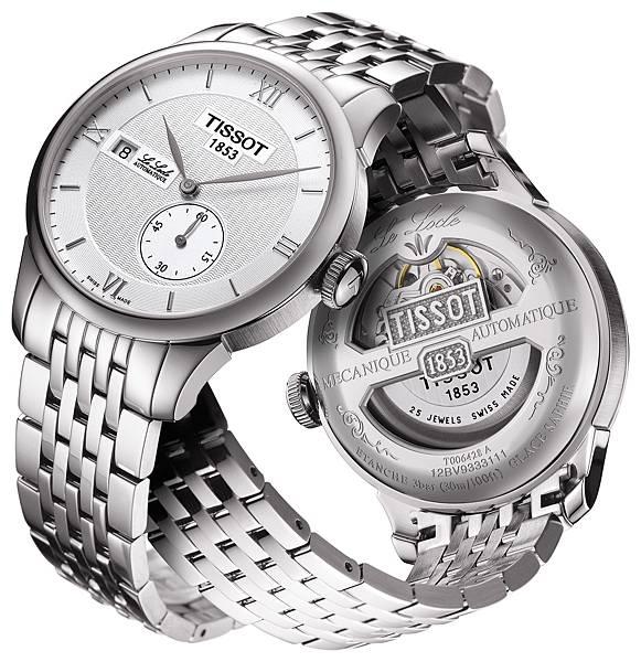 圖二 力洛克系列規範指針男款腕錶