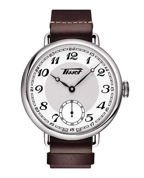 圖五 天梭1936經典復刻男款腕錶正面照