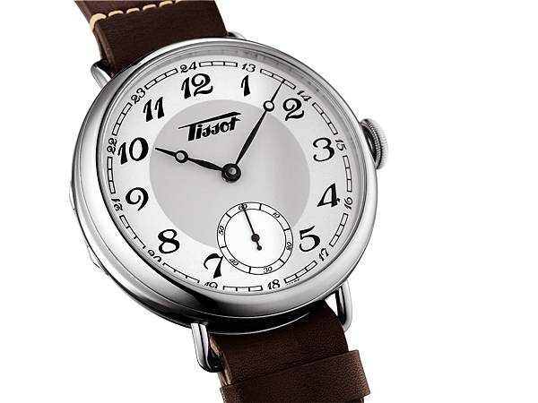 圖六天梭1936經典復刻男款腕錶