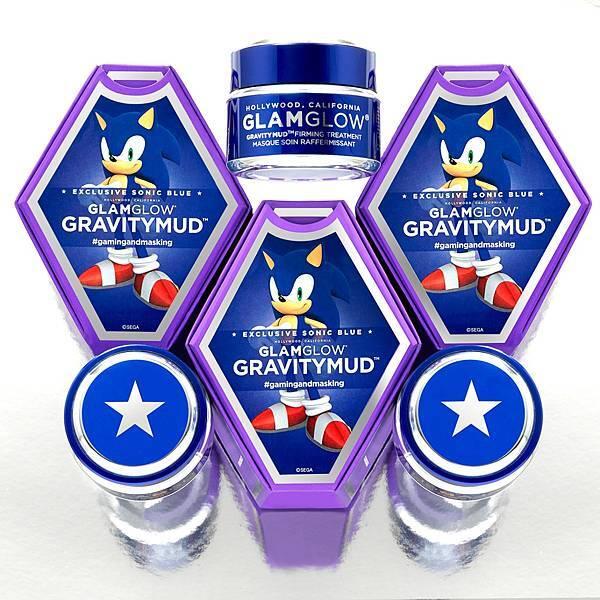 GLAMGLOW 音速小子25週年限量版-無重力瞬效緊實面膜_40g NT$2,600_2月3日全台限量發售