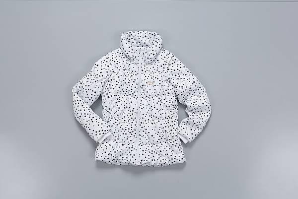 FILA可拆袖外套 $6,280【流星白】
