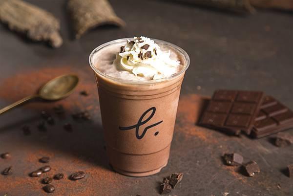 咖啡巧克力碎片冰沙
