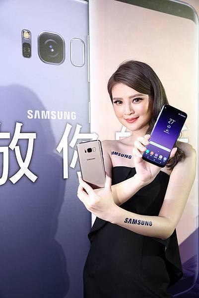 Galaxy S8與Galaxy S8+搭載無邊際螢幕與極細邊框設計