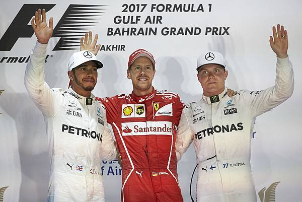Mercedes-AMG Petronas Motorsport車隊一舉囊括兩個頒獎台席次,Lewis Hamilton奪得亞軍,Valtteri Bottas則以季軍作收
