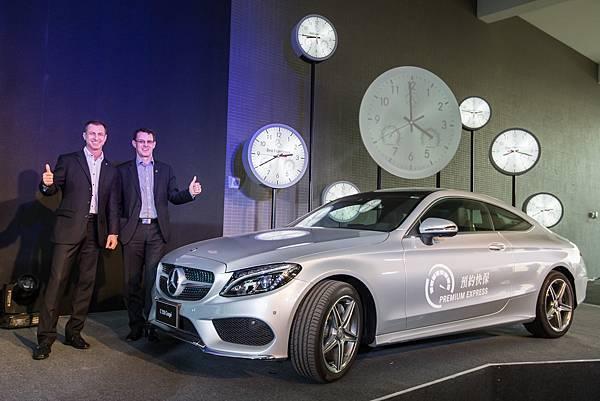 加強客製服務化細緻度,Mercedes-Benz推出「Premium Express」預約快保服務,讓持續擴大的顧客族群能享有最佳客戶體驗
