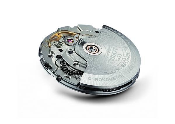 图6:天梭宝环系列腕表机芯采用矽材质