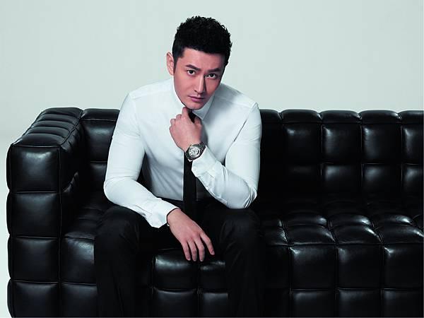 图4:天梭品牌形象大使黄晓明完美演绎天梭宝环系列腕表