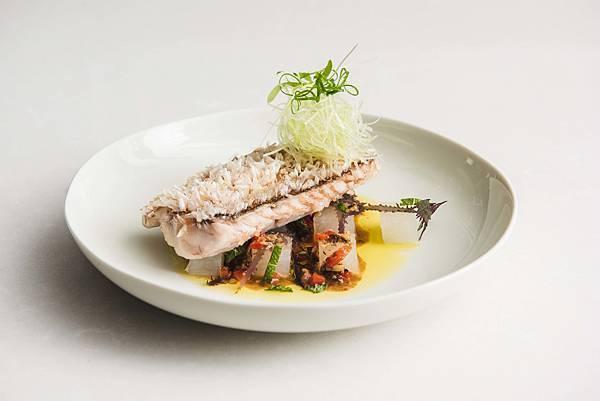台北中山意舎酒店-ACHOI-香煎馬頭魚