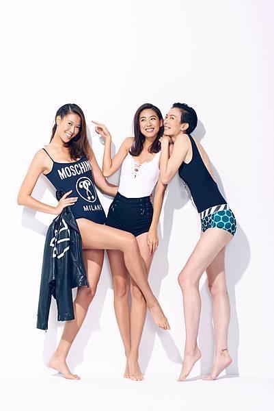 林可彤、林又立、劉欣瑜三人友情深厚,共創「女子訓練營」時常與粉絲分享運動影片