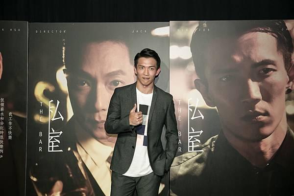 黃尚禾出席SELFPICK全新4K網劇私室發布記者會(照片提供:SELFPICK)