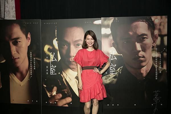 許乃涵出席SELFPICK全新4K網劇私室發布記者會(照片提供:SELFPICK)