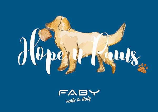 FABY Hope 4 Paws腳印力量