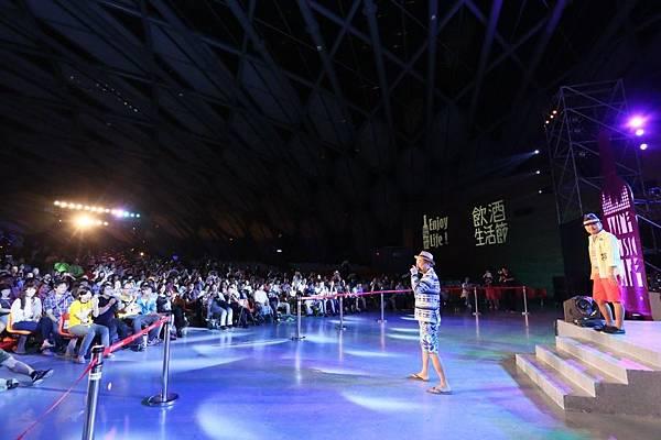 「音樂頑童」陳昇56(六)晚間於飲酒生活節與新寶島康樂隊壓軸開唱