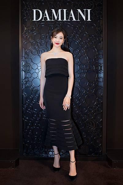 2.人氣偶像宋茜擔任DAMIANI品牌大使並出席上海恒隆廣場店開幕典禮