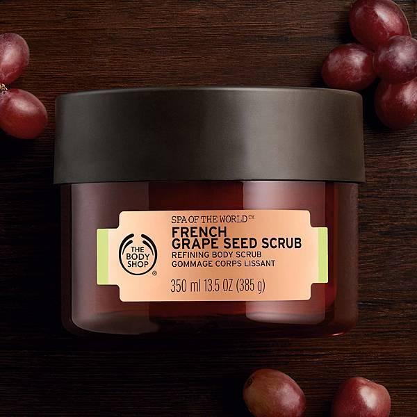 法國SPA葡萄籽緊緻身體磨砂膏 -單品2 $1,580 350ml