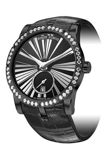 EXCALIBUR 王者之劍系列鑲鑽自動上鏈腕錶 NT565,000 (2)