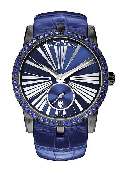 EXCALIBUR 王者之劍系列藍寶石自動上鏈腕錶 NT585,000 (1)