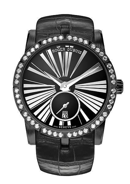 EXCALIBUR 王者之劍系列鑲鑽自動上鏈腕錶 NT565,000 (1)