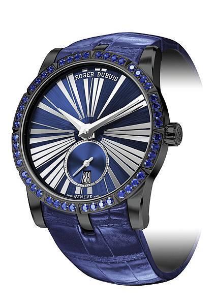 EXCALIBUR 王者之劍系列藍寶石自動上鏈腕錶 NT585,000 (2)