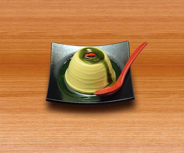 圖七:抹茶杏仁豆腐