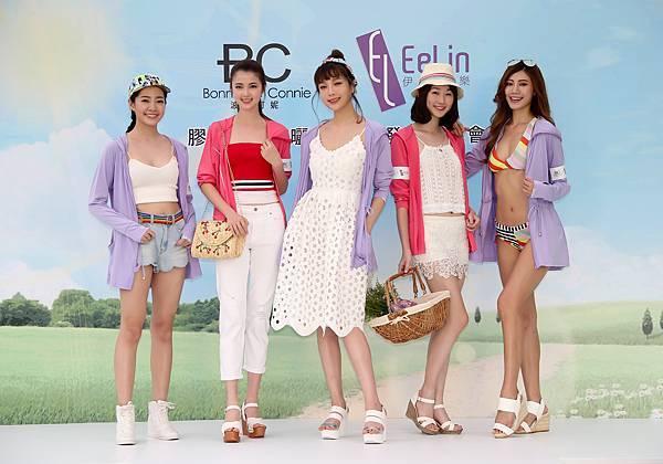 圖33、(從左至右)周穎立、陳宇馨、蔡淑臻、蘇暐淇、紀艾希(伊林娛樂提供)