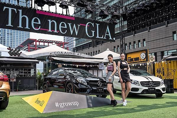 台灣賓士於今日(5月23日)正式在台發表The new GLA,全面升級的外觀與內裝套件再次突破框架,呈現不止於此
