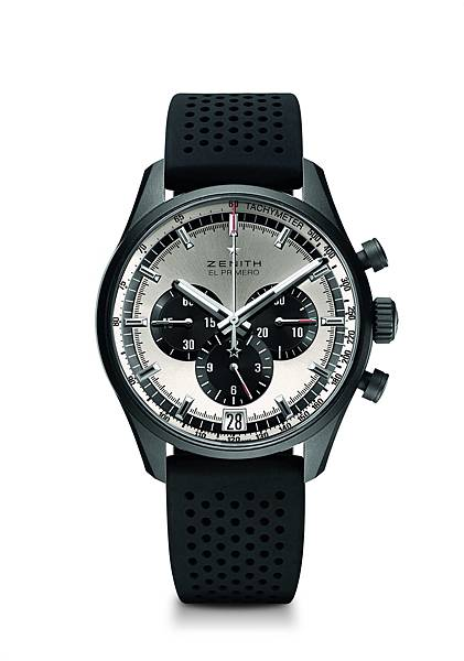 ZENITH El Primero 36,000 VpH腕錶銀白色面盤款,建議售價NTD299,000