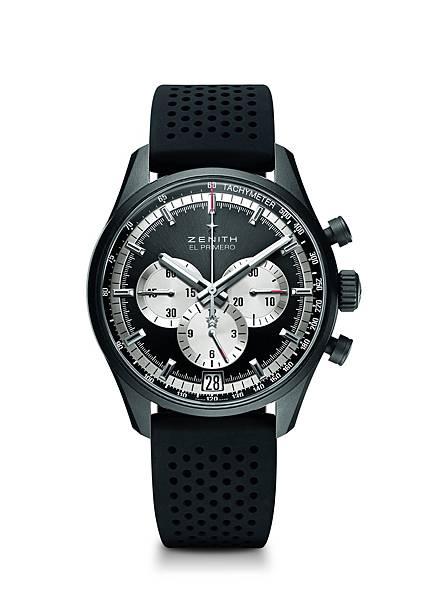 ZENITH El Primero 36,000 VpH腕錶黑色面盤款,建議售價NTD299,000