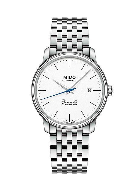 MIDO_Baroncelli Heritage永恆系列復刻超薄對錶(男錶)_M027.407.11.010.00_NTD 34,100