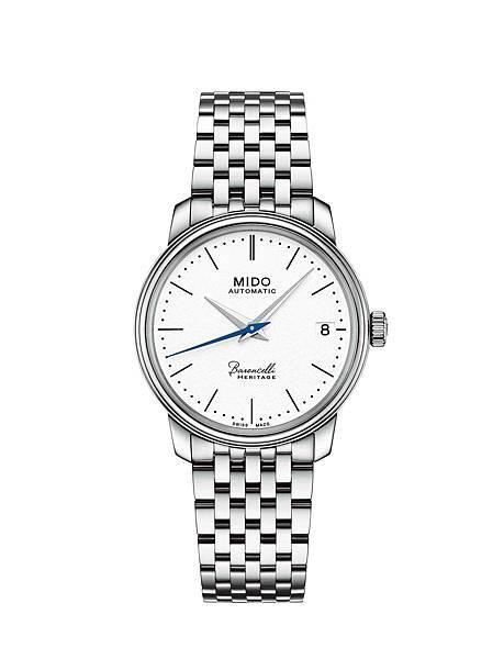 MIDO_Baroncelli Heritage永恆系列復刻超薄對錶(女錶)_M027.207.11.010.00_NTD 34,100