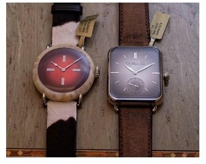 1. 佳士得將Swiss Alp Watch與Swiss Mad Watch列在稀世鐘錶目錄中分別拍賣
