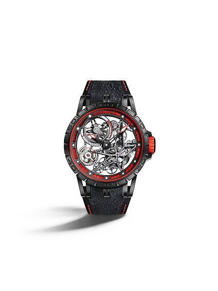Excalibur Spider Pirelli 自動上鏈鏤空腕錶紅NT.2,160,000 (1)
