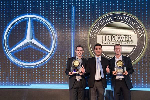 台灣賓士獲得J.D Power的2016年台灣豪華進口車銷售滿意指數(SSI)與顧客服務指數(CSI)的雙料冠軍,確實貫徹「最佳品牌」、「最佳產...