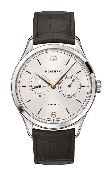 114872 萬寶龍 Heritage Chronométrie傳承精密計時系列雙顯示盤日期腕錶,NT$100,800