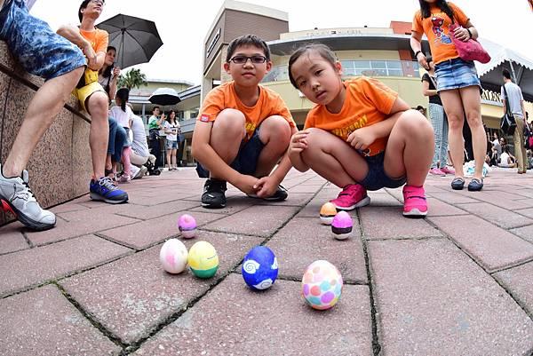 慶端午,小朋友彩繪立蛋