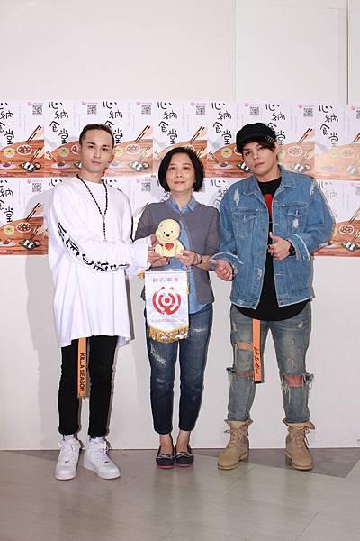 胡睿兒+紅心字會秘書長李顯文+楊琳