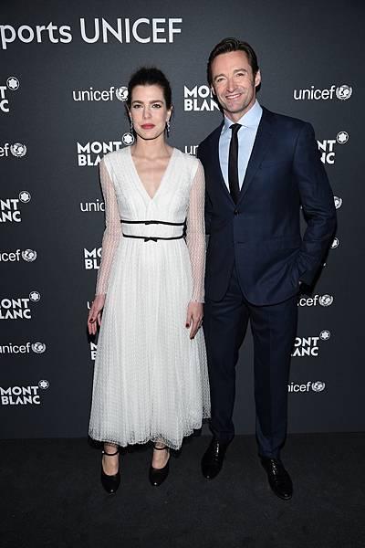 萬寶龍品牌大使夏洛特卡西拉奇(Charlotte Casiraghi)、休傑克曼(Hugh Jackman)出席萬寶龍UNICEF聯合國兒童基金會系列限量商品紐約發表會