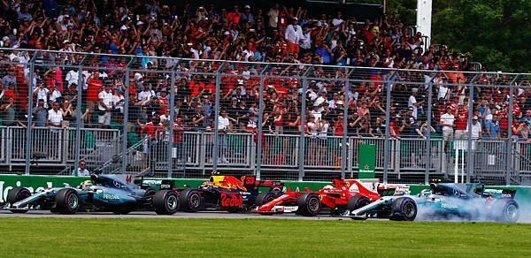 -戰況激烈的加拿大站事故頻傳,但Mercedes-AMG Petronas Motorsport以絕佳默契與車輛性能,技壓群雄