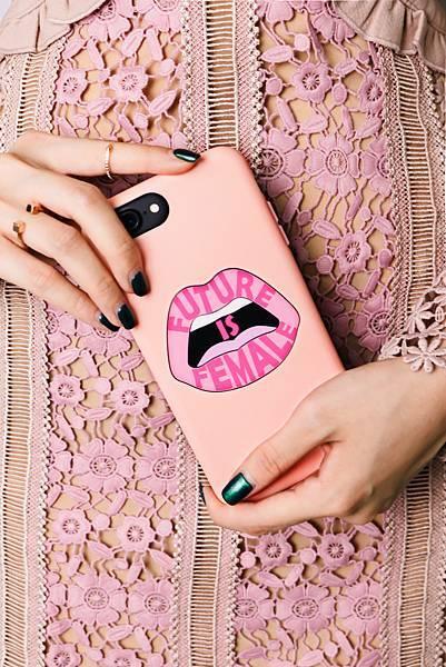 粉紅限量手機殼