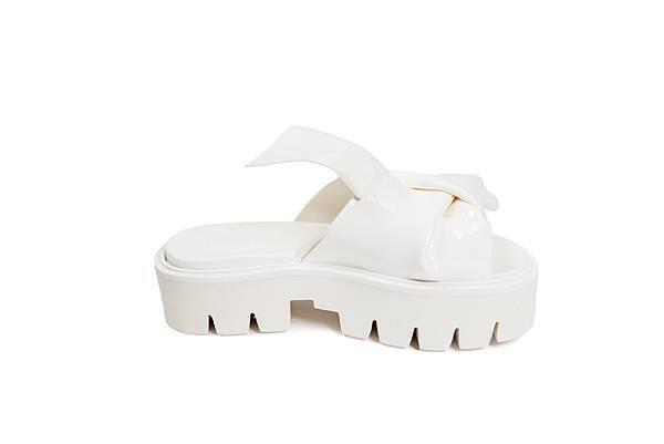 N21#Kartall_結繩造型白色厚底拖鞋_NT9800