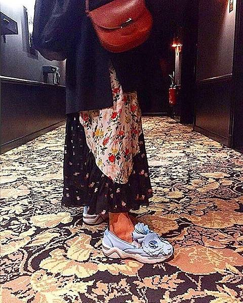 Suecomma Bonnie_花朵造型懶人鞋