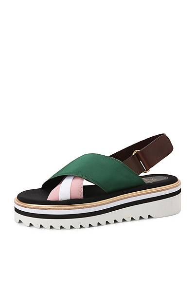 Suecomma Bonnie_交叉造型厚底涼鞋_NT11800
